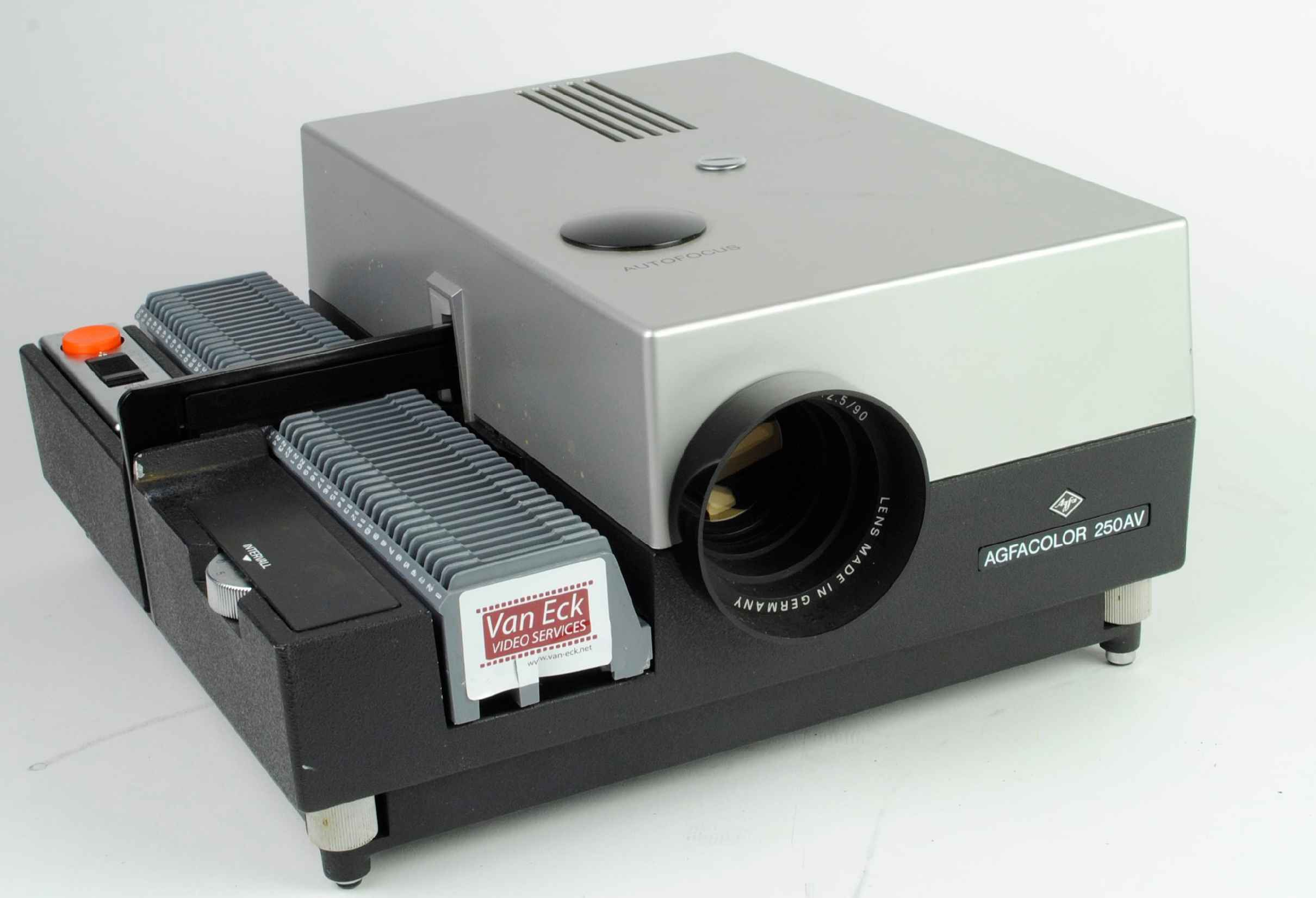 Agfa agfacolor 250av slide projectors spare parts and for Best pocket size projector