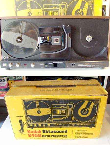 kodak ektasound 245b film projectors spare parts and information rh van eck net