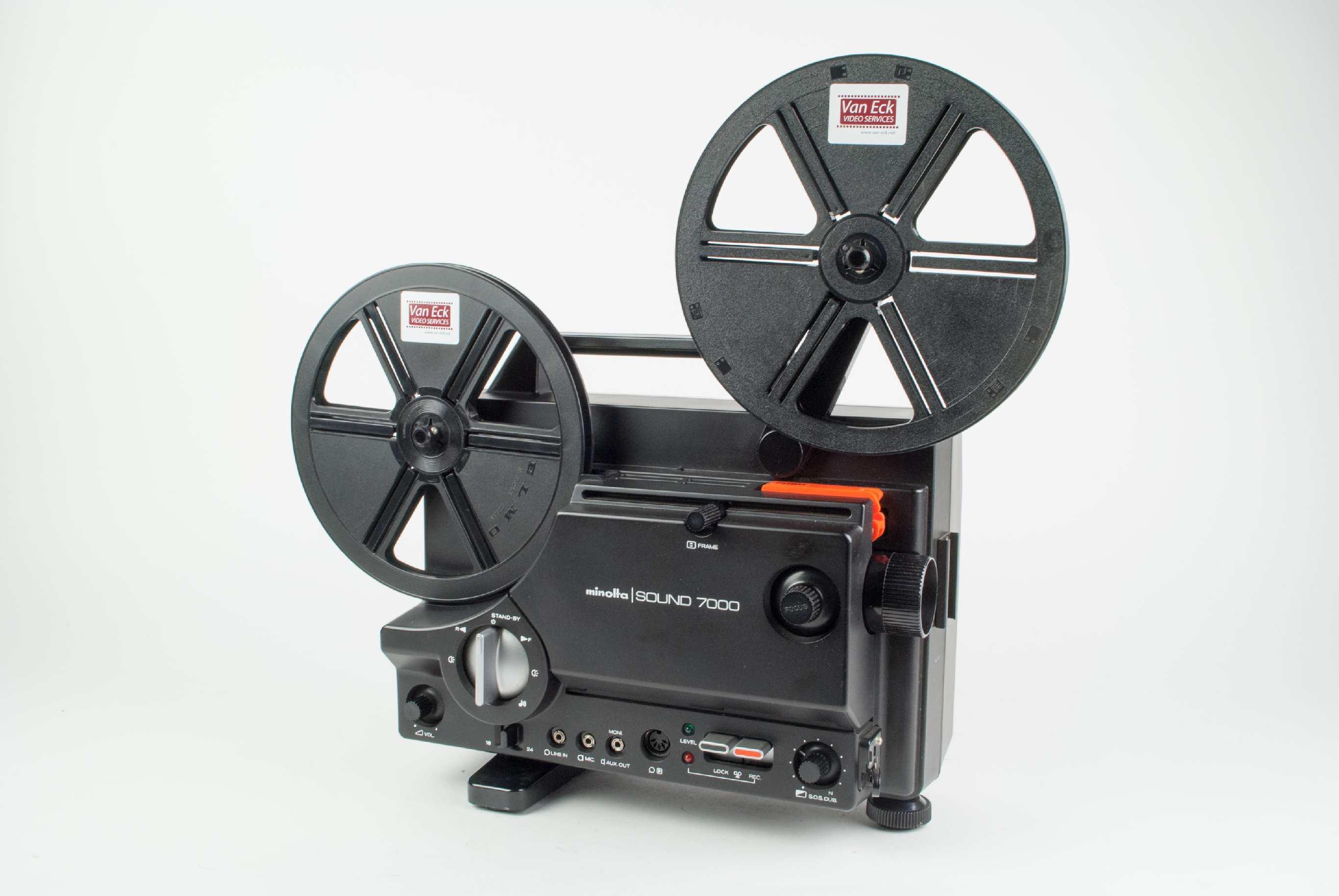 Minolta Sound 7000, Film Projectors - Spare Parts and Information