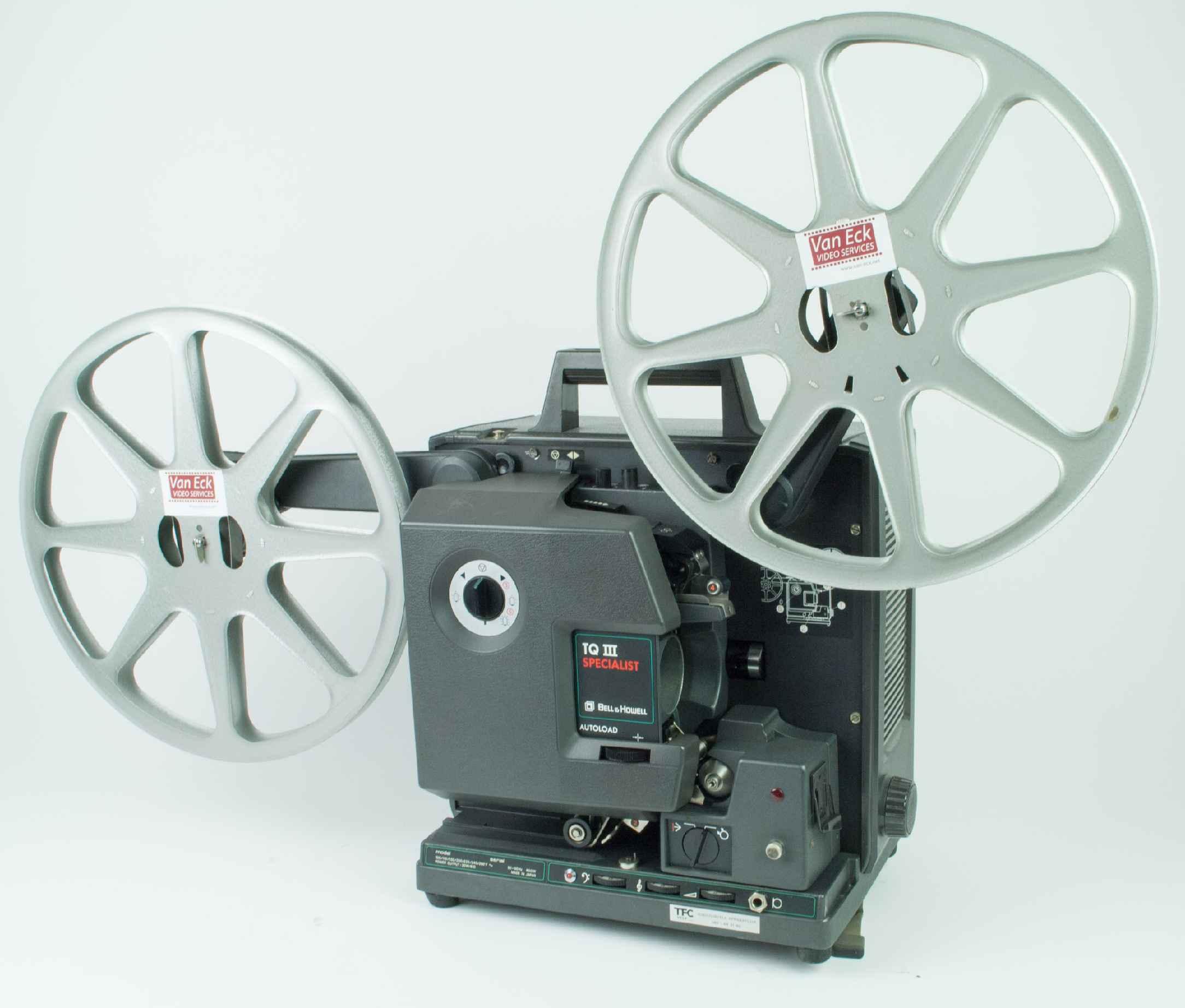 Bell & Howell 1698 (TQ3 specialist) (16mm filmosound), Film