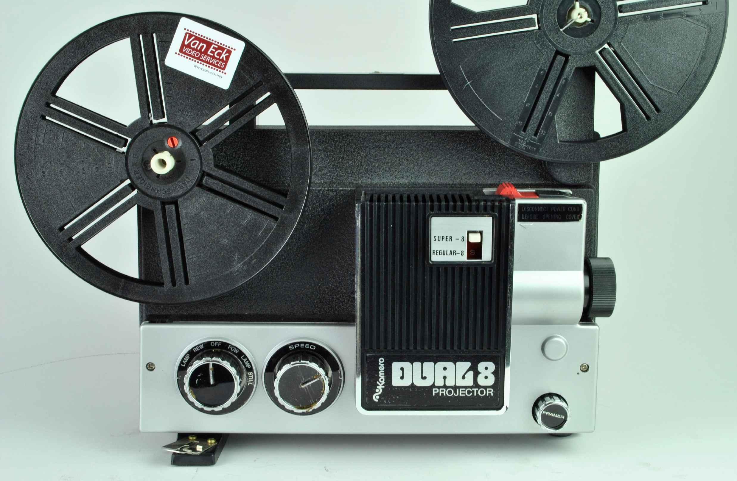 Kamero Dual 8 Projector, Film Projectors - Spare Parts and