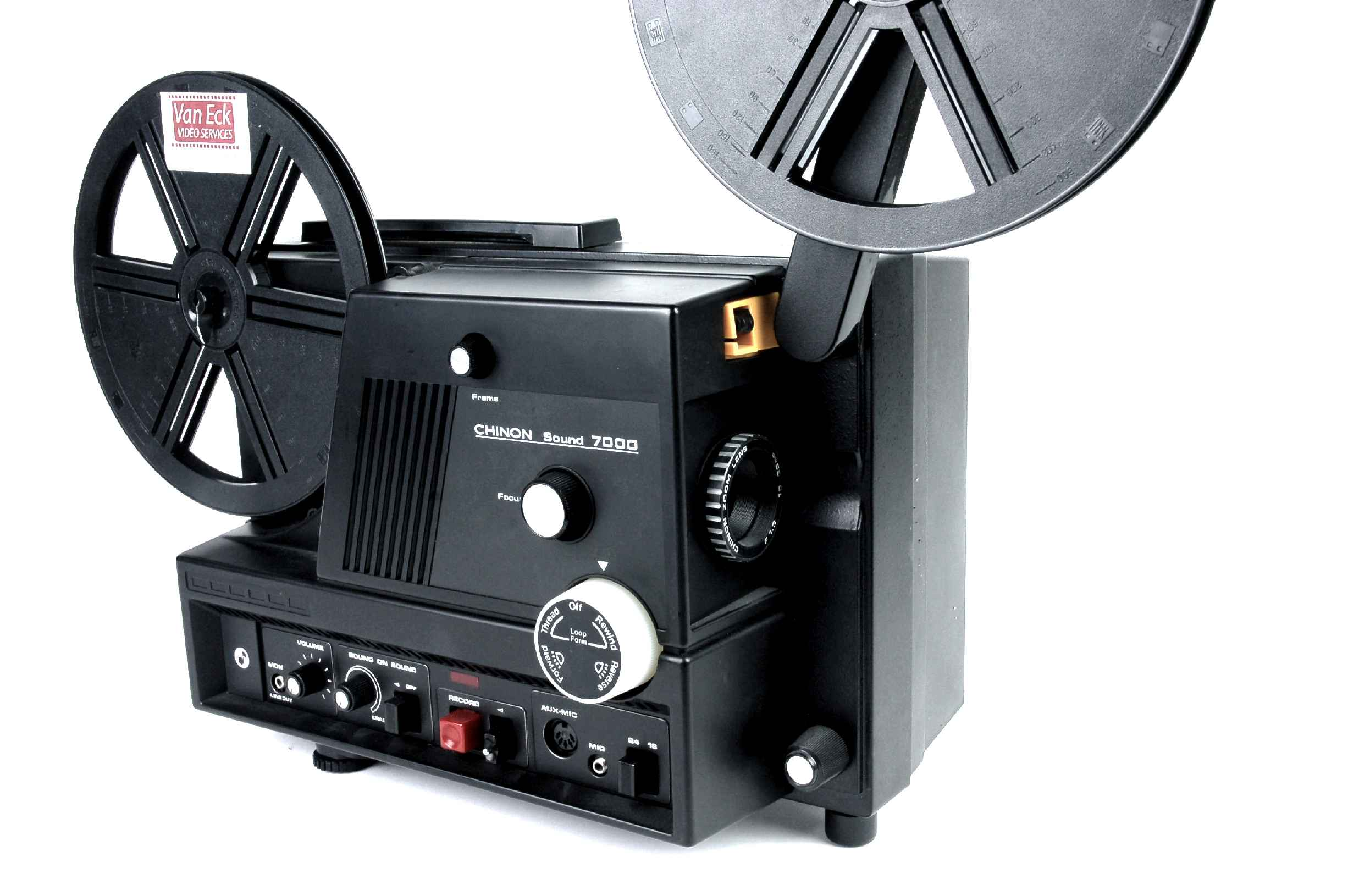 Chinon Sound 7000, Film Projectors - Spare Parts and
