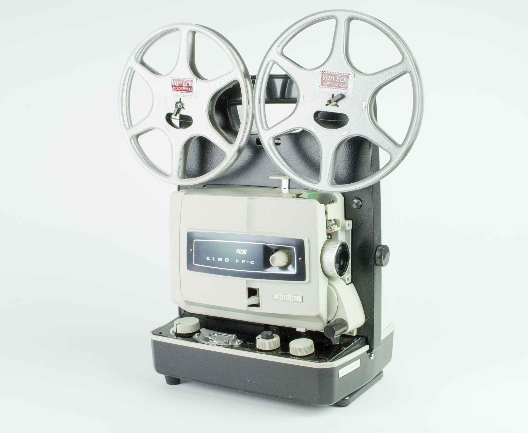 Elmo FP-C, Film Projectors - Spare Parts and Information Van