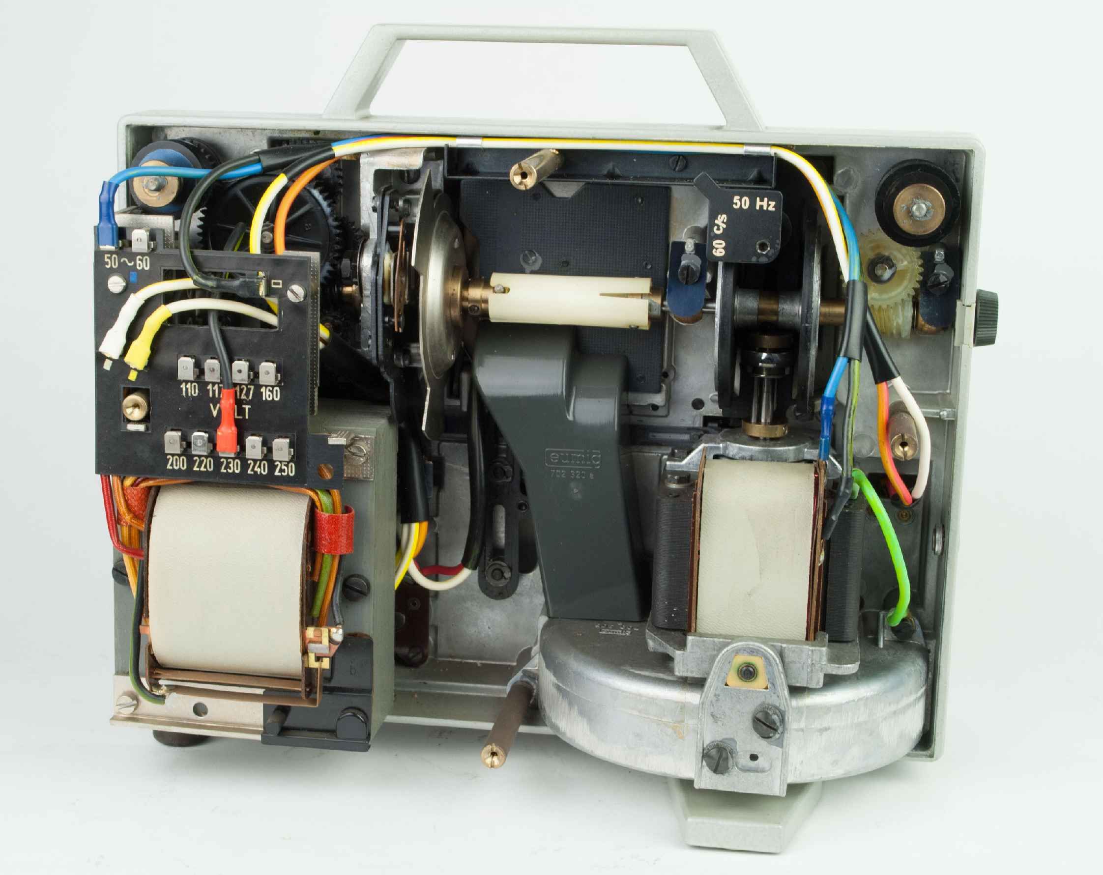 Eumig mark 610 d, film projectors spare parts and information.