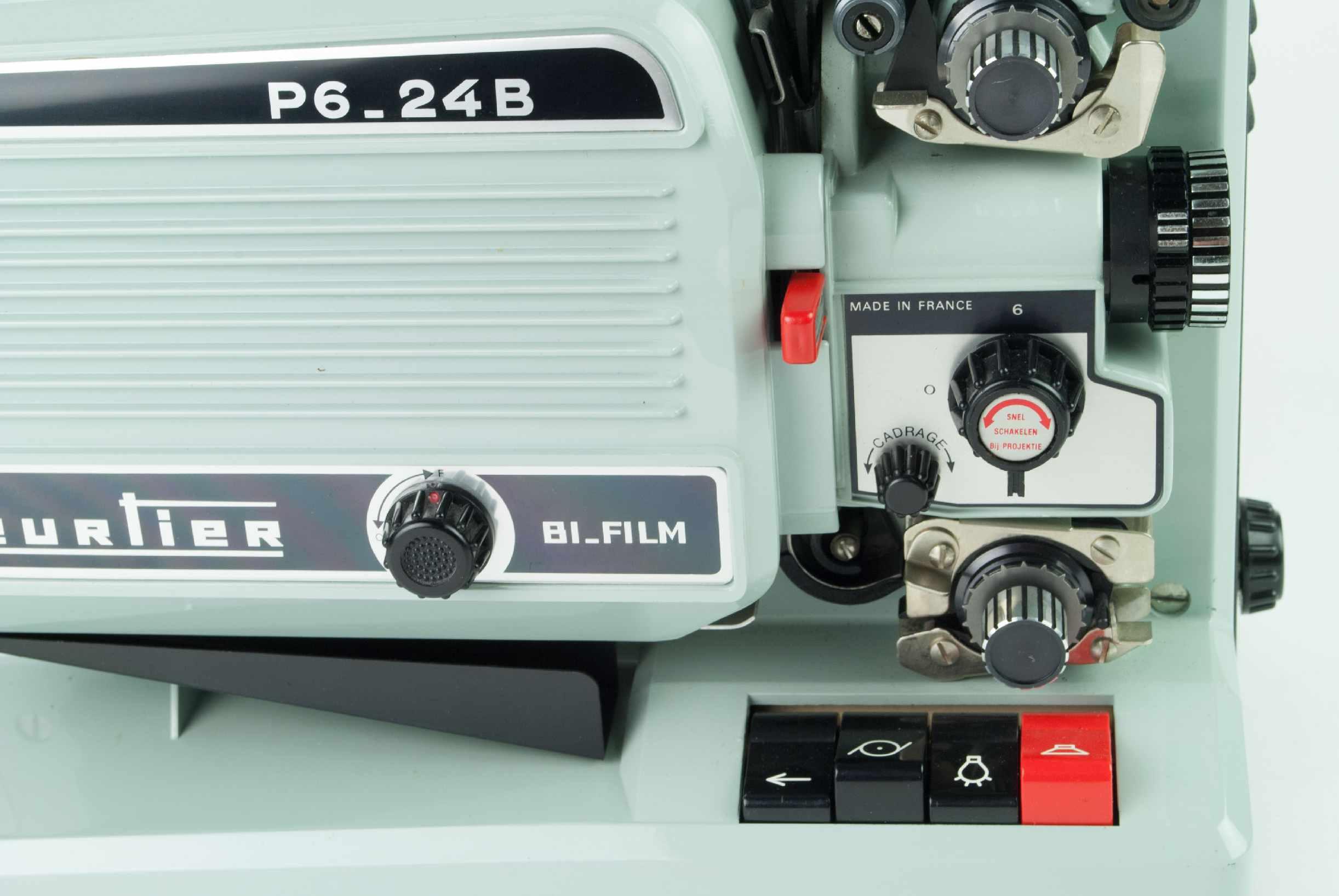 Heurtier P6 24b Bi Film Film Projectors Spare Parts And