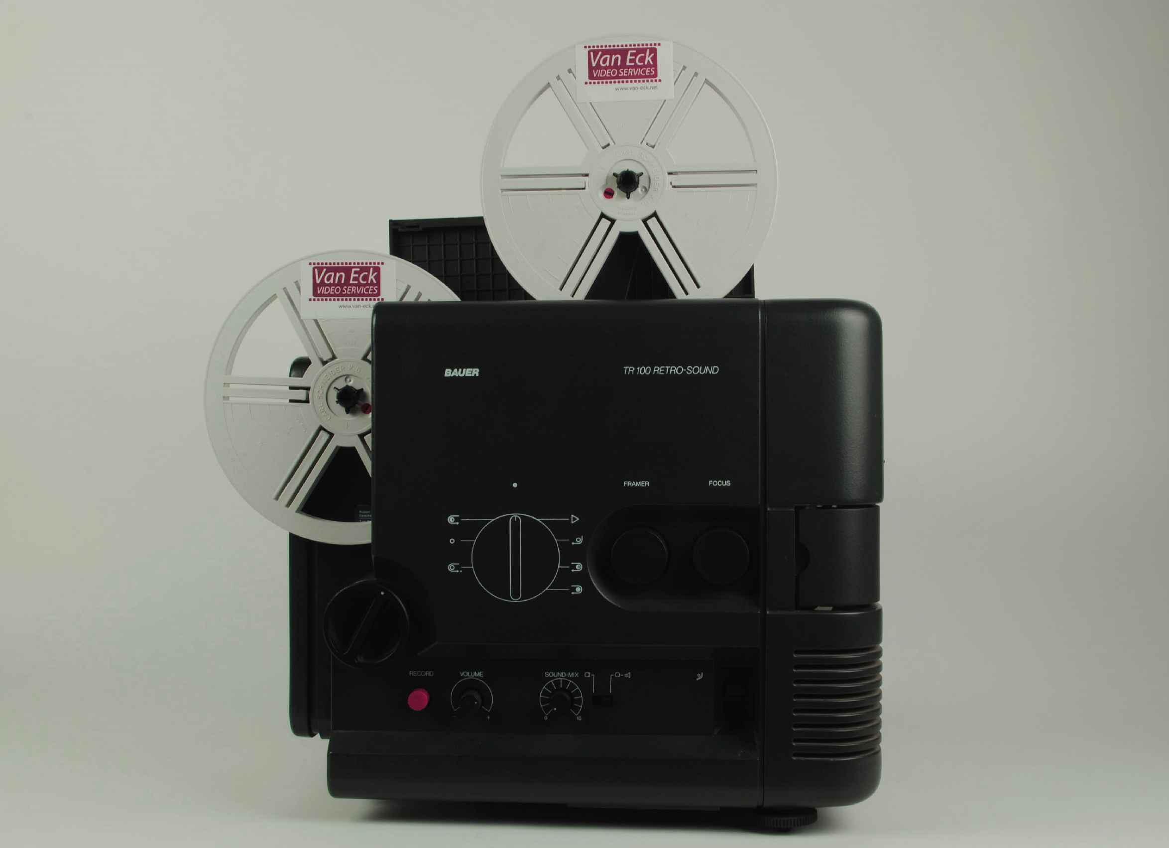 Bauer TR100 Retro-sound (Super 8/Singel 8 - met geluid) (gebruikt)