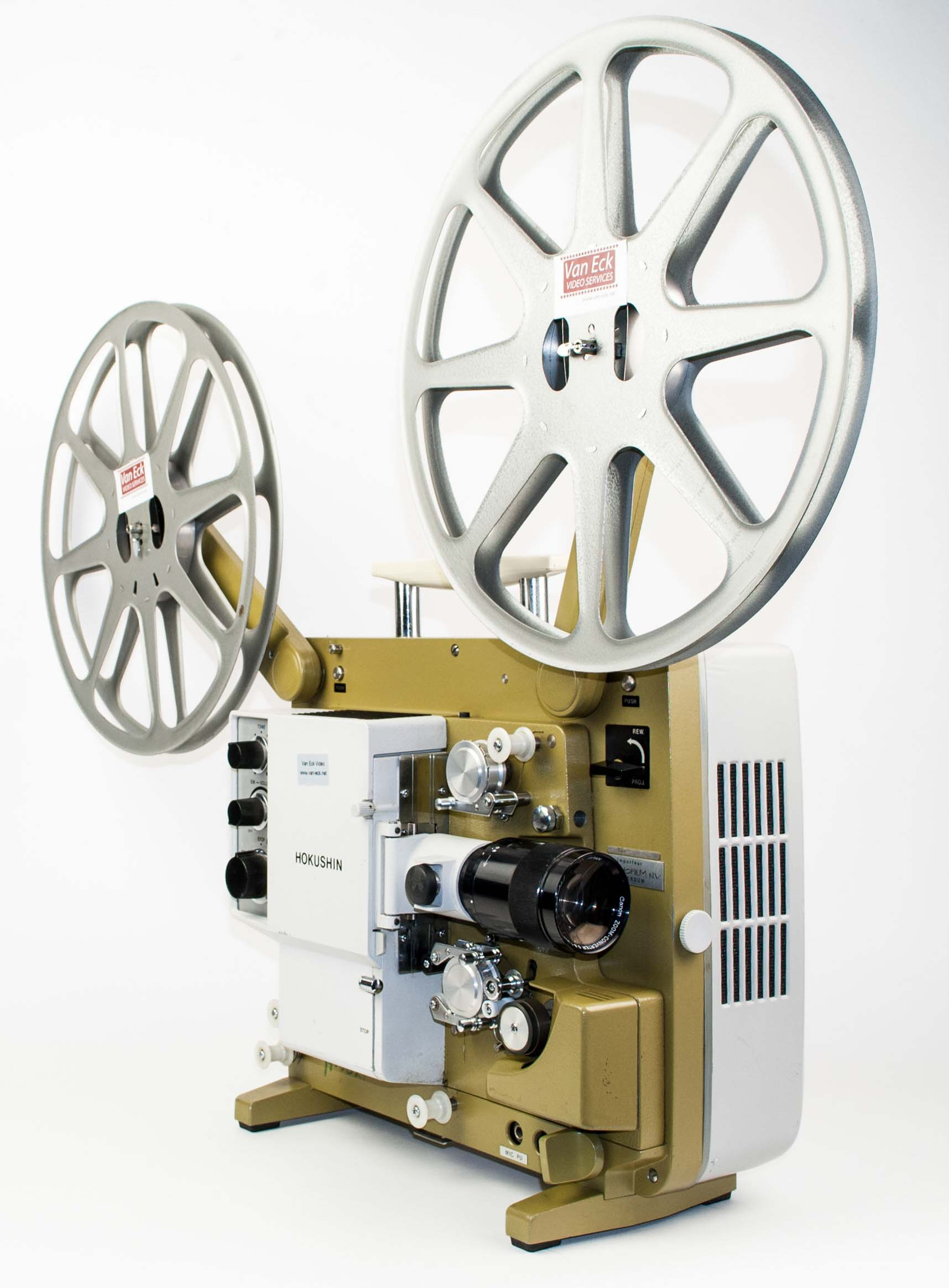 Hokushin Canary, Film Projectors - Spare Parts and Information Van
