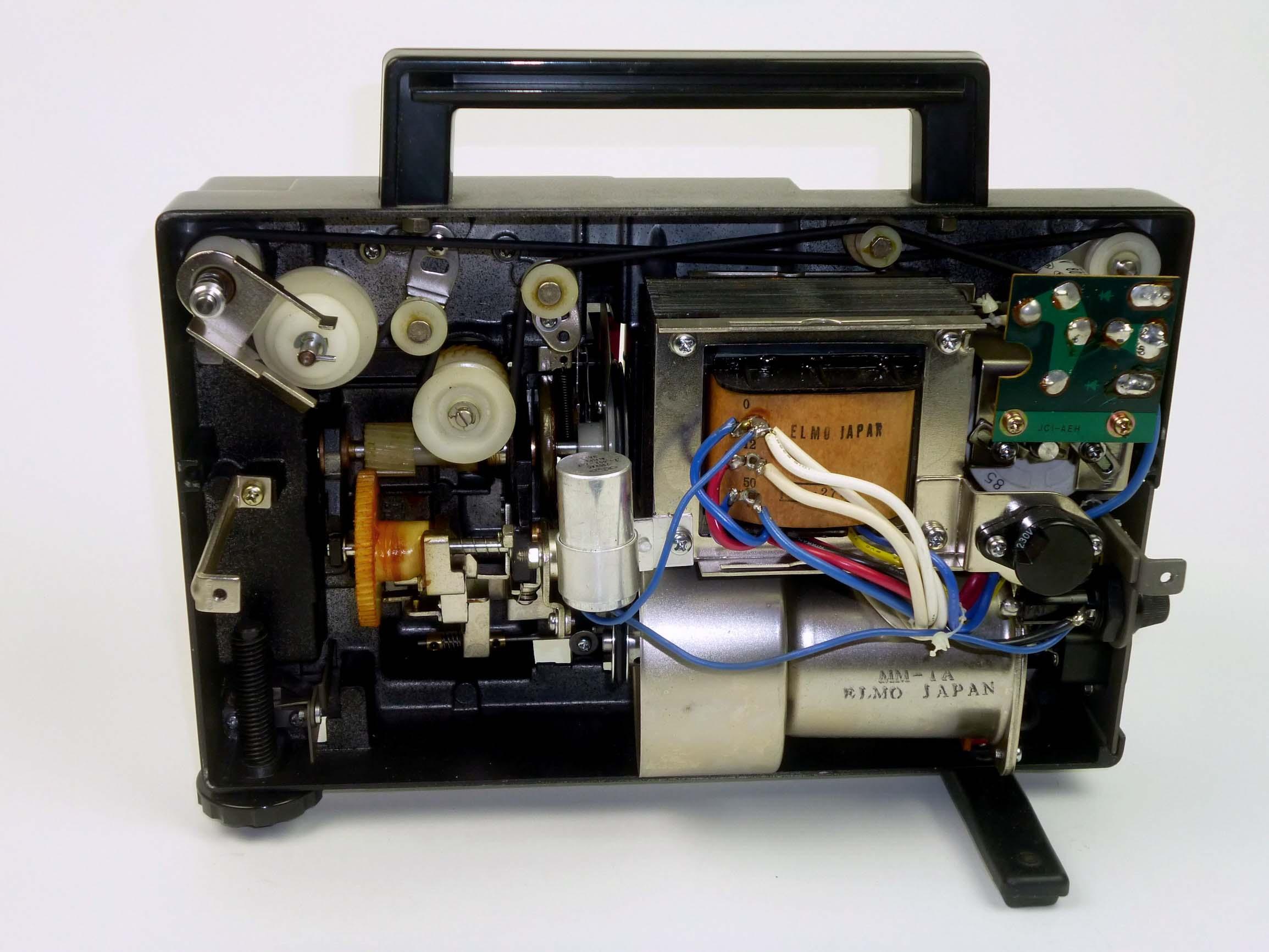 elmo k 100 sm film projectors spare parts and information van eck rh van eck net