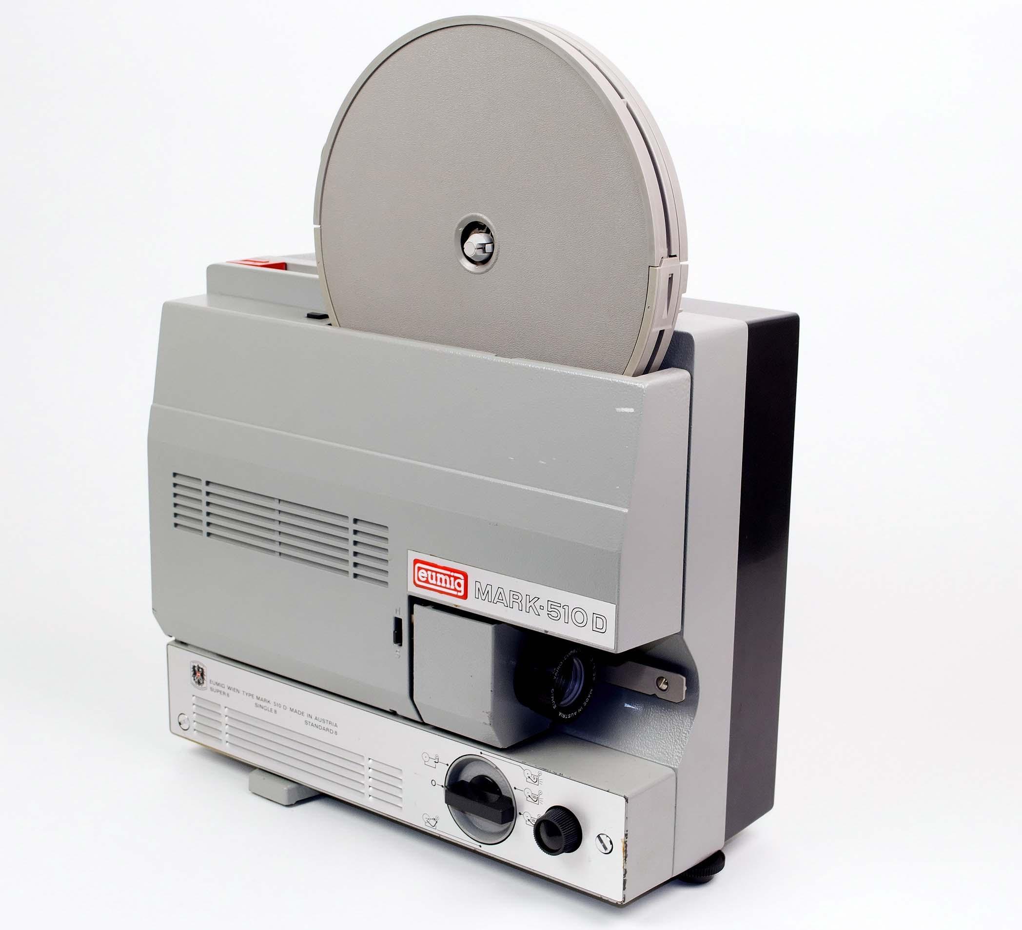 eumig mark 510d filmprojectoren onderdelen en informatie van eck video services. Black Bedroom Furniture Sets. Home Design Ideas