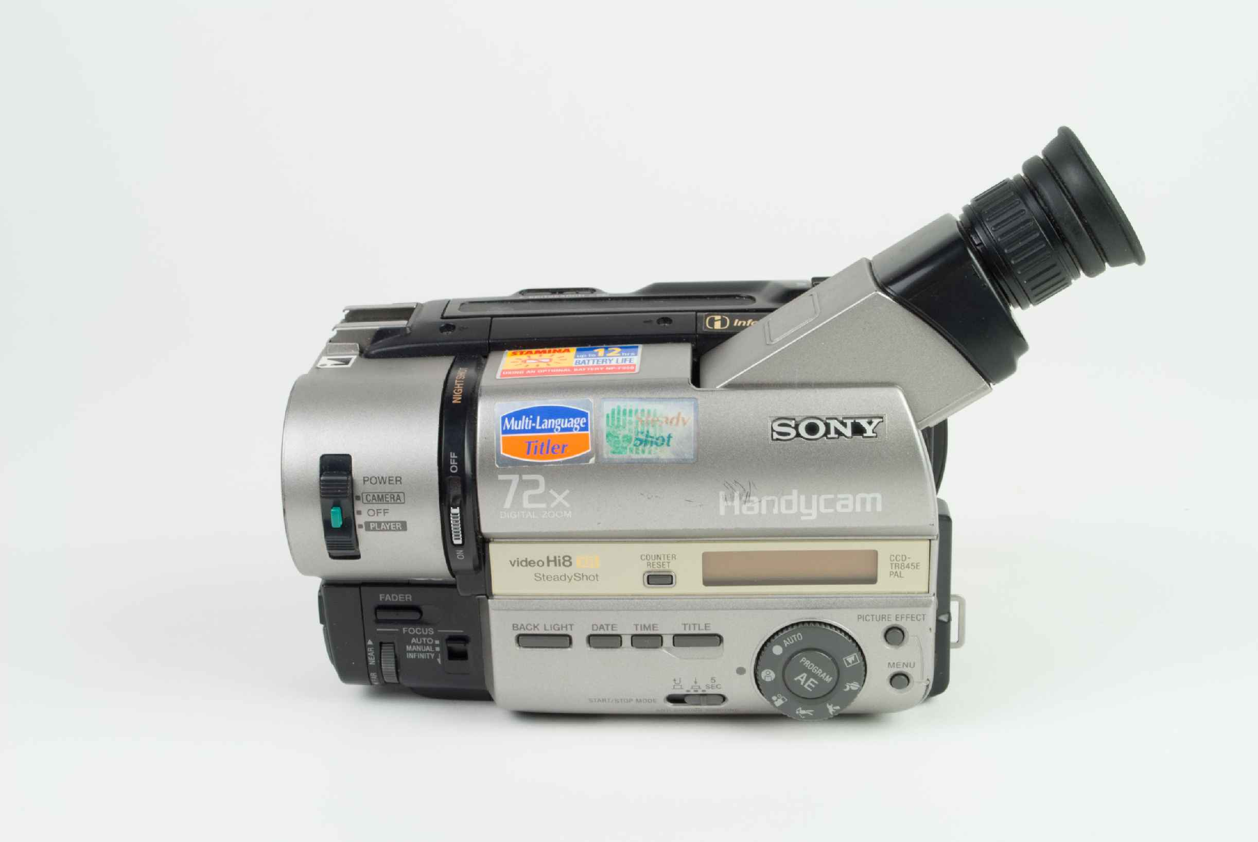 Sony CCD-TR845E PAL, Video Equipment - Spare Parts and