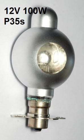 Philips Lamp P35S 12V 100W (TYP 13116C/04)