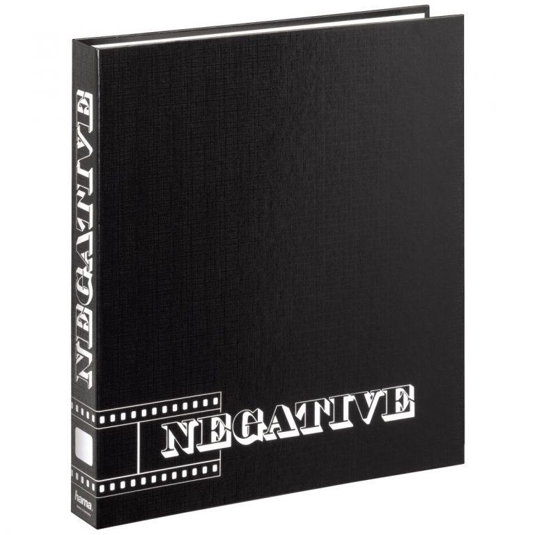 Hama Ringmap Zwart voor Negatieven