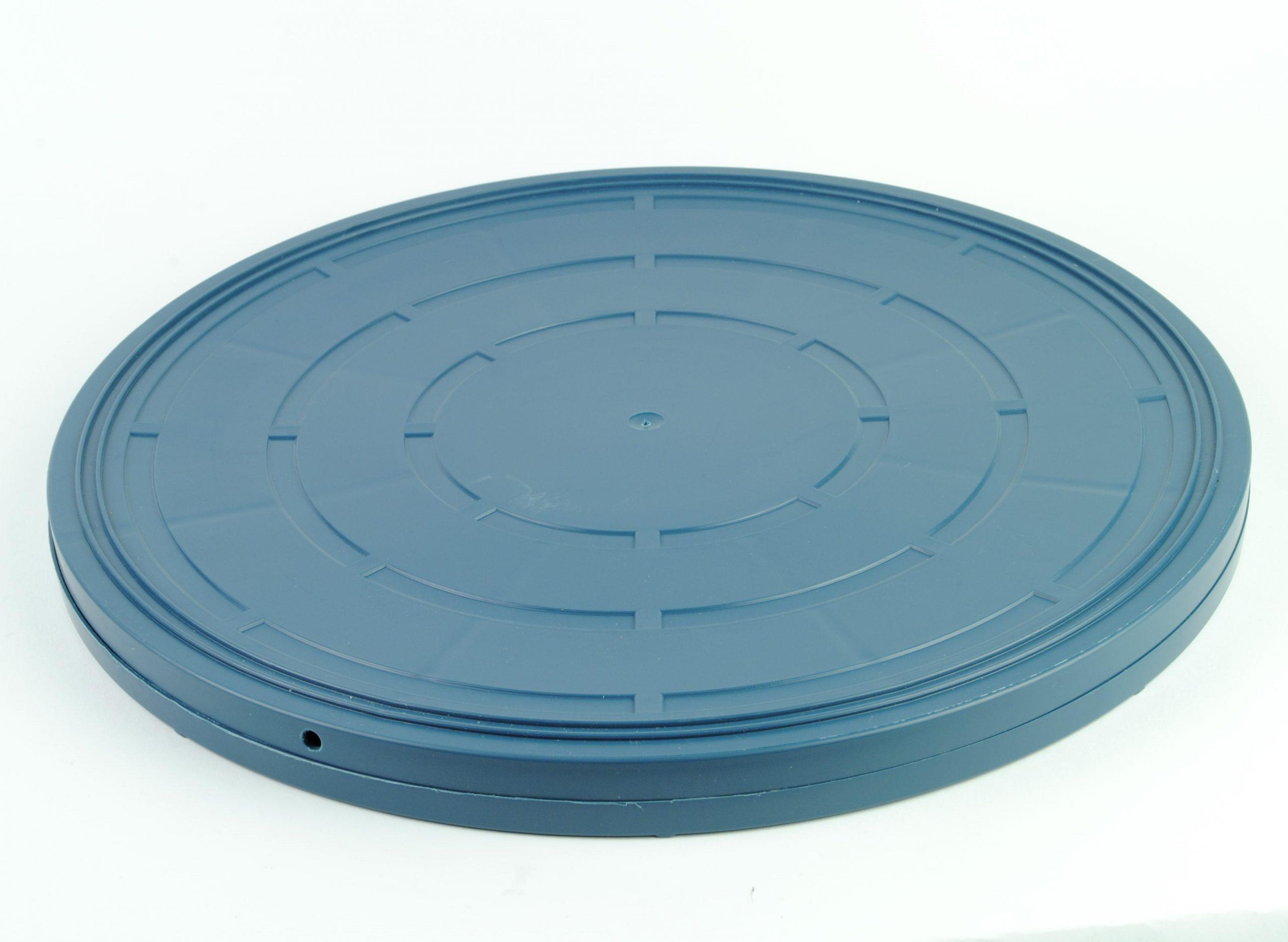 16mm Film opslag doos 600m - blauwgroen