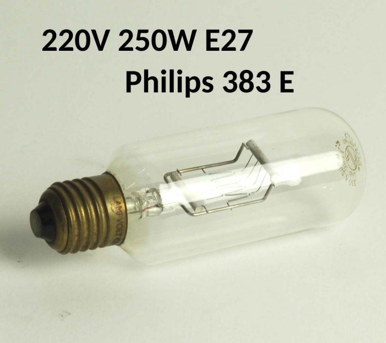 Lamp E27, 220V, 250W - Philips 383 E