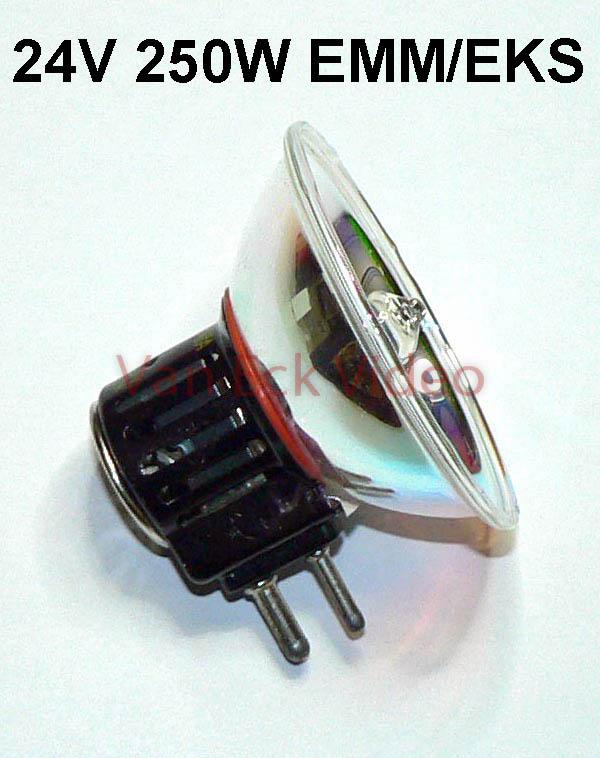 Lamp 24V 250W sokkel GX 7,9 EMM/EKS (A1/258)