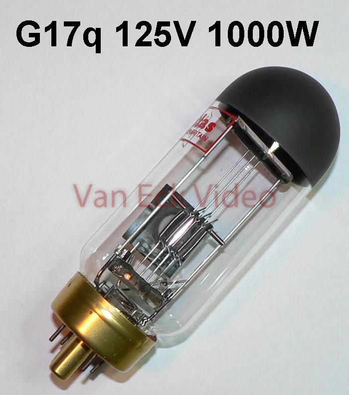 Lamp G17q 125V 1000W A1/207 H9