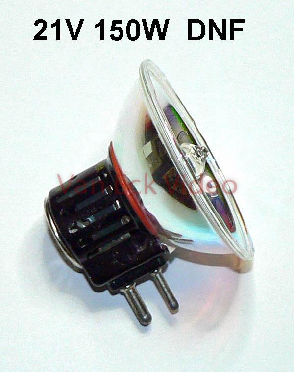 Lamp 21V 150W sokkel GX 7.9 ansi: DNF (54411)