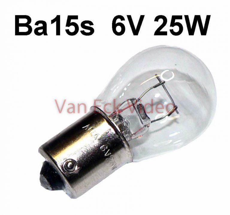 Viewer Lamp 6V 25W Ba15s