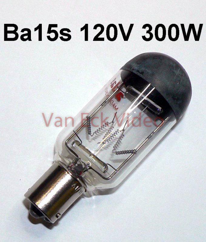 Lamp Ba15s, 120V 300W CYC/CYF/CYM