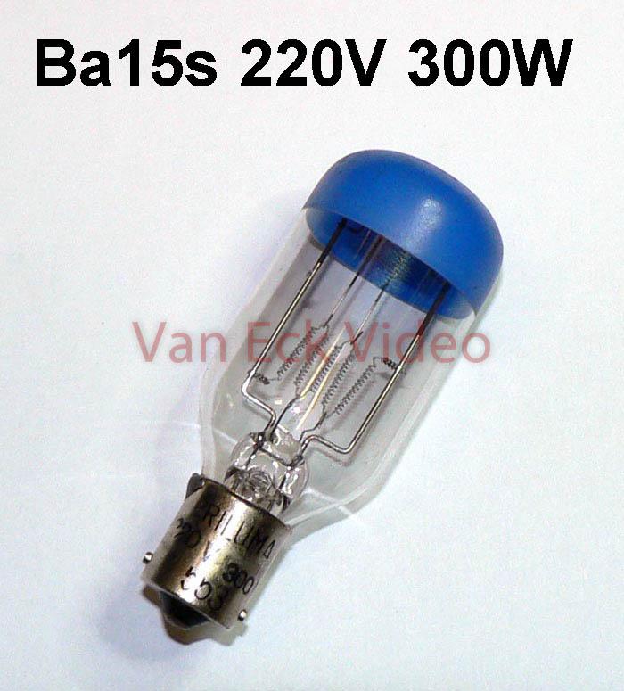Lamp Ba15s, 220V 300W SYL-183 / Rimula