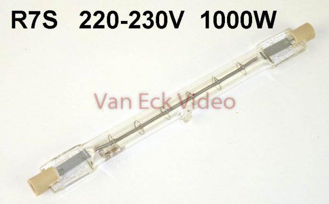 Lamp R7s 220-230v 1000w R7s 133mm PF820R