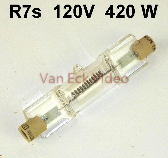Lamp R7s, 120V, 420W, lengte: 63mm - 12216R A1/227