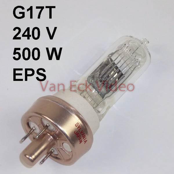Lamp G17T 240V 500W, EPS