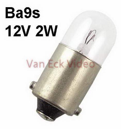 Lamp Ba9s 12V 2W 9x23mm (T9)