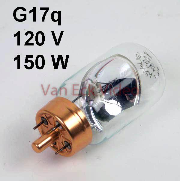 Lamp Q17q 120V, 150W, ANSI: DCL