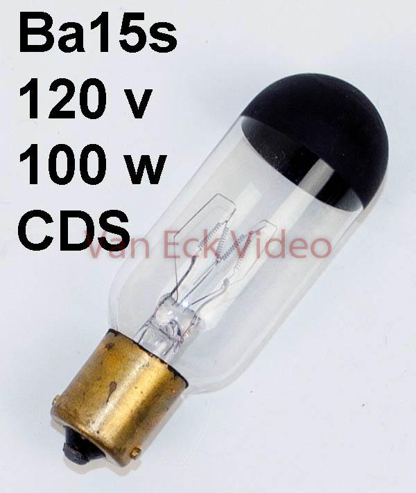 Lamp ba15s 120V 100W ansi: CDS