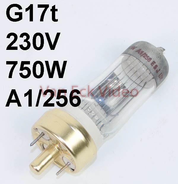 Lamp G17t 220-230V 750W a1/256