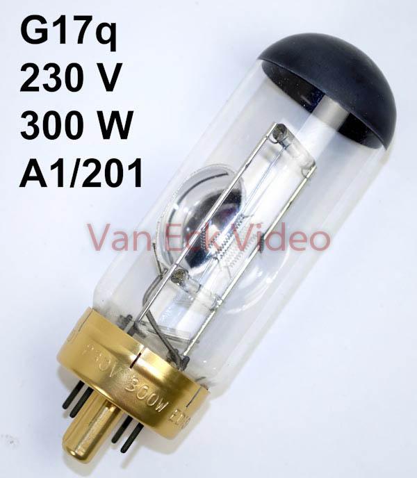 Lamp G17q , 230V, 300W