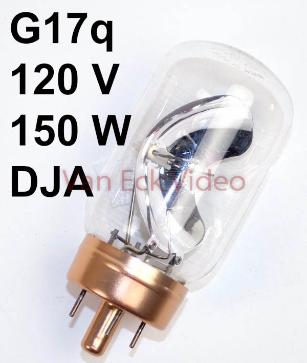 Lamp G17q 120V 150W ANSI: DJA