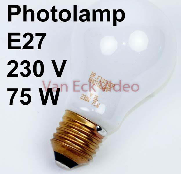 Lamp vergroter 230V 75W E27 (dr Fisher 77841412)