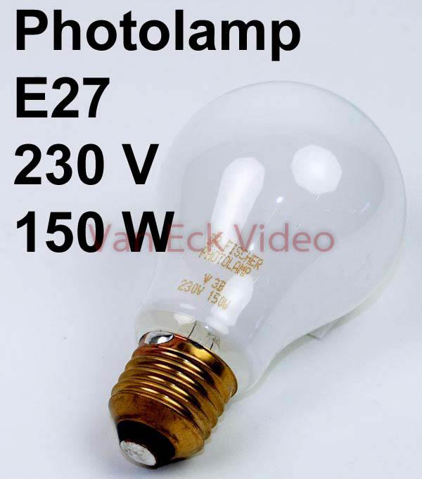 Lamp vergroter 230V 150W E27 (dr fisher 77841406)