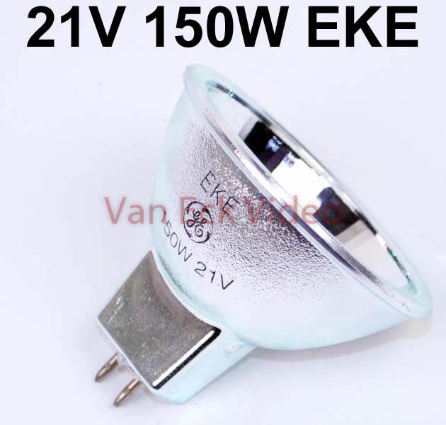 Halogeen lamp 21V 150W Lamp GX 5.3 ansi: EKE