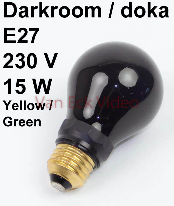 Lamp doka E27 230V 15W - Geel / Groen (dr Fisher 77841421)