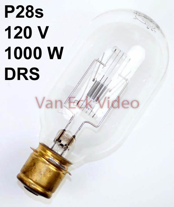 Lamp P28s 120V 1000W ansi: DRS