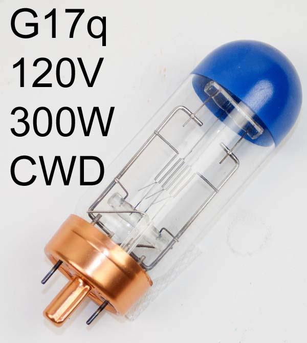 Lamp G17q 120v 300W ANSI: CWD