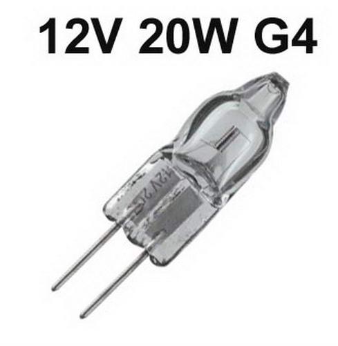 Pin Base Lamp Halogeen G4 - 12V / 20W