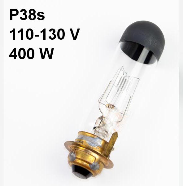 Lamp P38s, 110-130V, 400W, Keic/Kondo