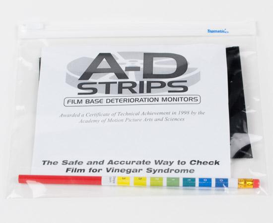 A-D Strips (voor het testen van vinegar syndrome)