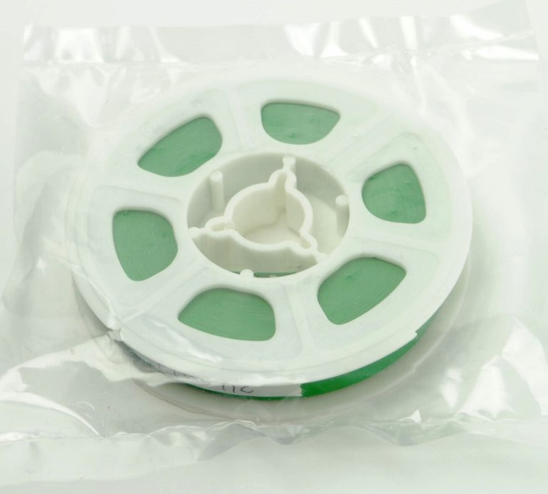 Super8/Single8 Film Leader - Groen Plastic - 15,24m (50ft)