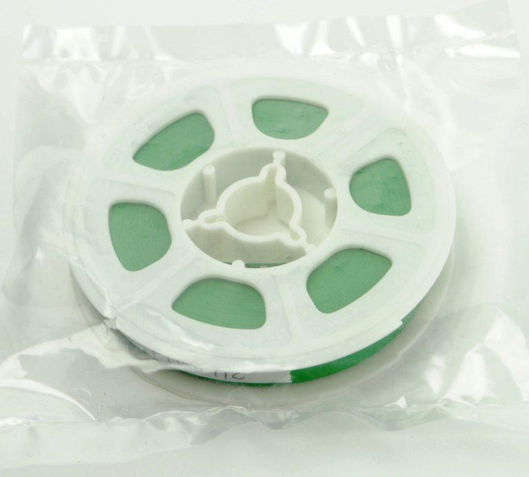 Regular 8 Film Leader - Green Plastic - 15,24m (50ft)