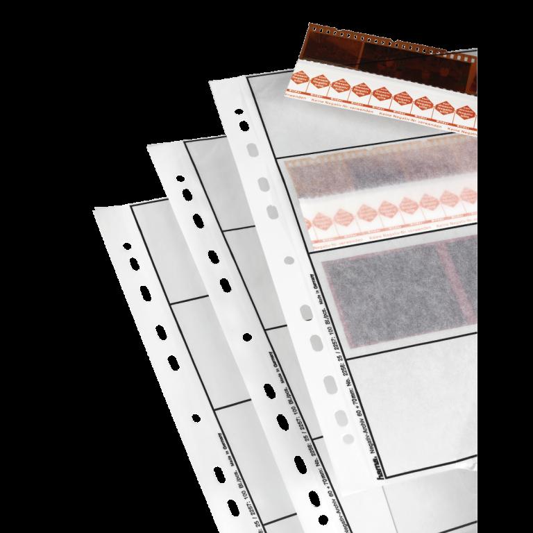 Hama Negatiefbladen Pergamijn mat. 60/70Mm 4X3 25S