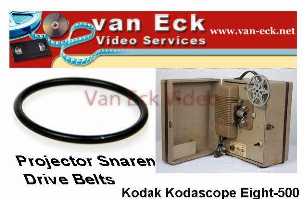 Kodak Kodascope Eight-500 projector snaar (motor snaar)