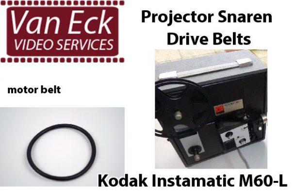 Kodak Instamatic M60-L snaar (motor snaar)