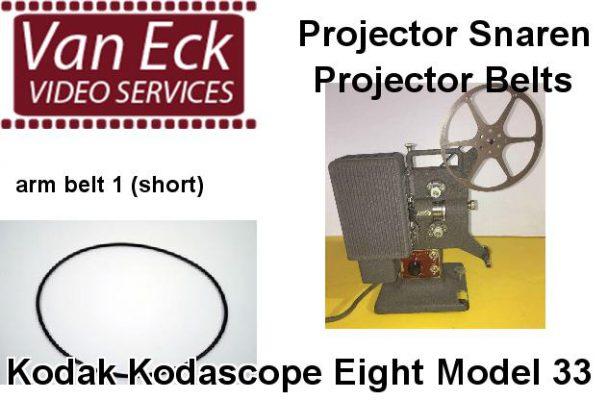 Kodak Kodascope Eight Model 33 snaar (spoelarm snaar 1 (kort))