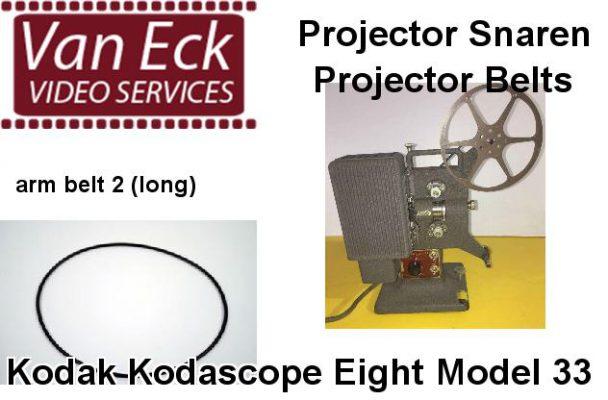 Kodak Kodascope Eight Model 33 snaar (spoelarm snaar 2 (lang))