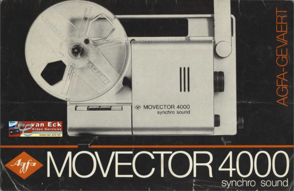 Agfa Movector 4000 Gebruikshandleiding Deutsch